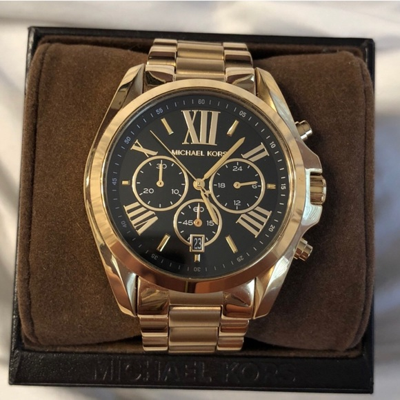a3b5581f7 Michael Kors Accessories | Bradshaw Watch Mk5739 | Poshmark